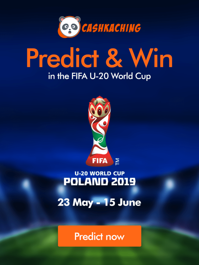 FIFA U20 World Cup is Live – Double your Points
