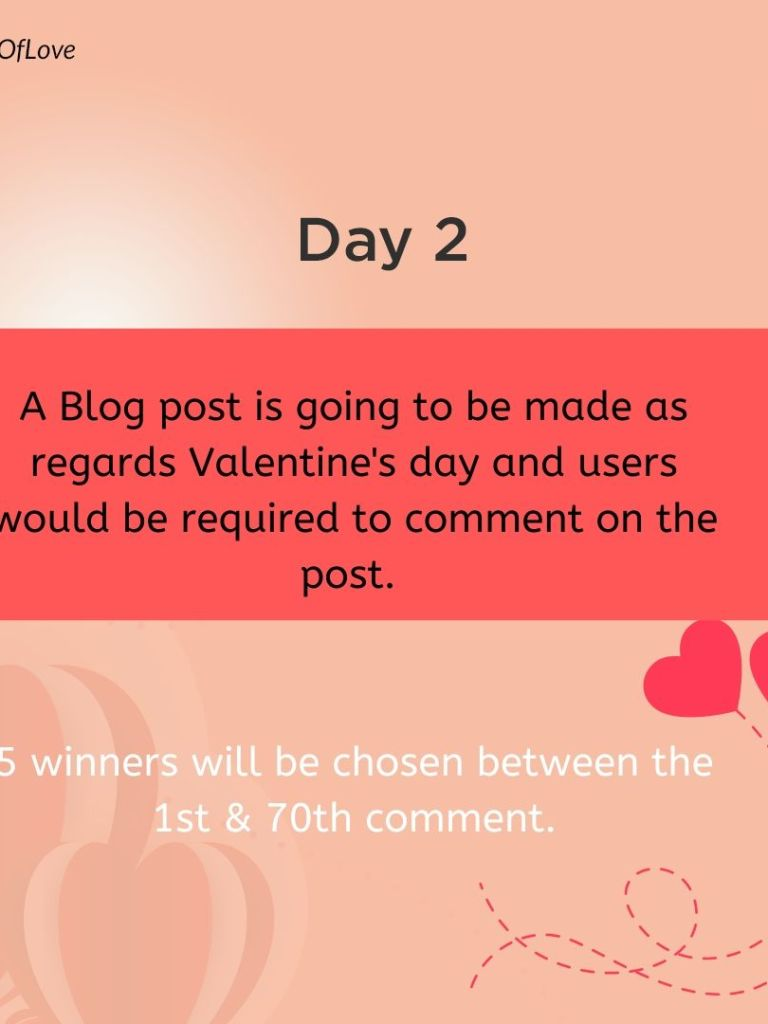 Cashkaching #7DaysOfLove – Blog Comment Teaser.