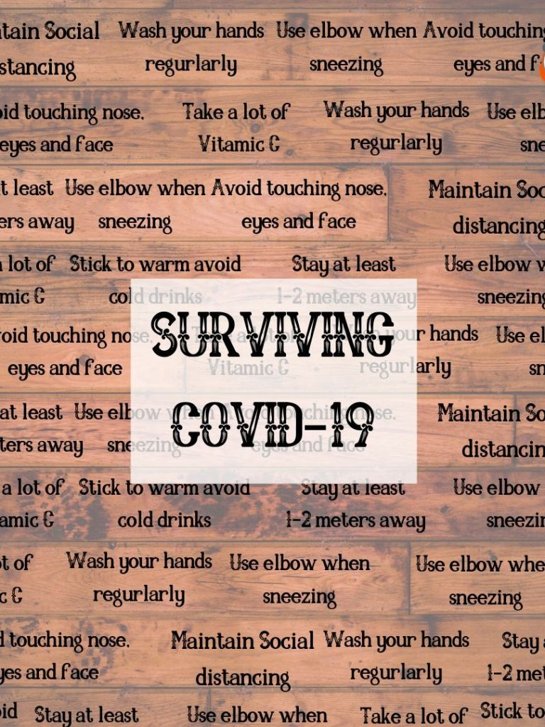 Tips on Surviving #COVID19