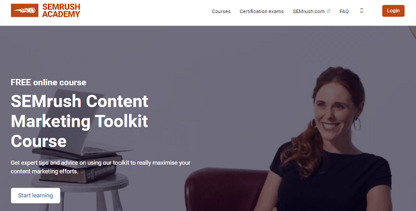 semrush content marketing toolkit free course - Learn The Truth About SEMrush Content Marketing Toolkit