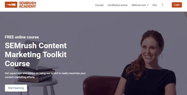 semrush content marketing toolkit free course - Learn The Truth About SEMrush Content Marketing Toolkit
