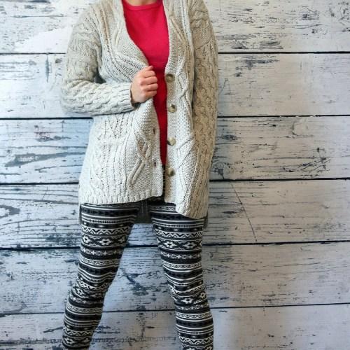 Sweater leggings 2