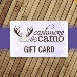 Cashmere & Camo Gift Card