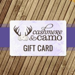 Cashmere & Camo Gift Card