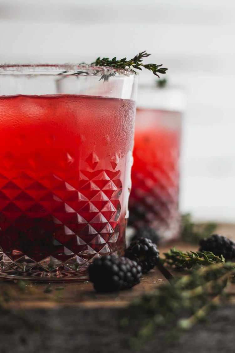 Blackberry Tequila Lemonade - Cashmere and Cocktails