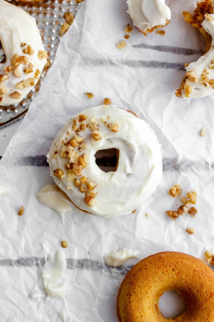 Carrot Cake Donut Recipe - Cashmere & Cocktails