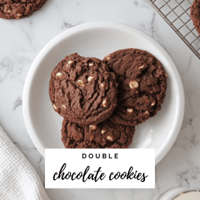 Double Chocolate Cookie Recipes - Cashmere & Cocktails