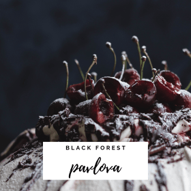 Black Forest Pavlova recipe - Cashmere & Cocktails