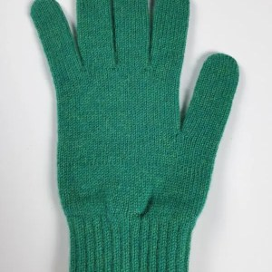 product image for a pair of alder green pure cashmere gloves made in Scotland - 600x800 - product id:944 - cashmereglovesandscarves.co.uk