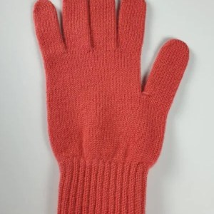 product image for a pair of peach pure cashmere gloves made in Scotland - 600x800 - product id: 897 - cashmereglovesandscarves.co.uk