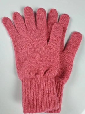 product image for a pair of venitian rose pink cashmere gloves made in Scotland - 600x800 - product id: 889 - cashmereglovesandscarves.co.uk