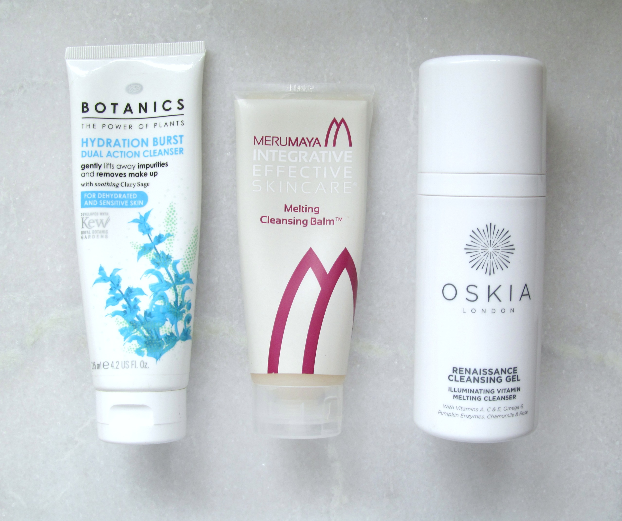 Save, spend, splurge: gel/balm cleansers