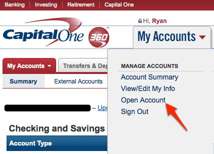 How to Open A Sub Account at Capital One 360  Cash Money Life