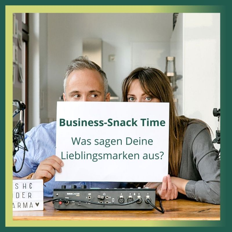 Business-Snack: Was sagen Deine Lieblingsmarken über Dich aus?