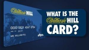 william hill plus card