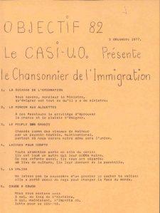 OBJECTIF82 1977