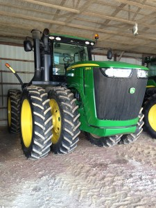 Here's the 'after' picture of the JD 9360R tractor.  See the post for ___ to view the 'before'.
