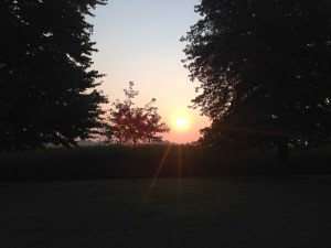 It was a beautiful sunrise in SW Indiana this morning!