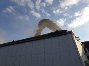 Loading a truck!
