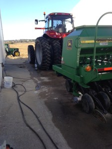 The little drill and the MX290 receive a wash job