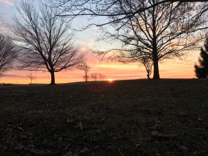 A beautiful morning in southwest Indiana