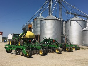 The soybean air drill is repaired, loaded, and ready to return to planting as soon as conditions allow. Maybe Monday?