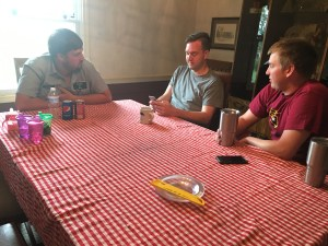 """""""The Brothers"""" visit around the table on Wednesday."""