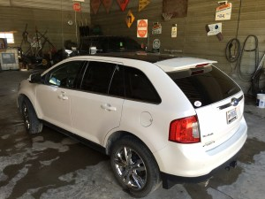 This Ford Edge may be 5 years old, but it shines like new today!