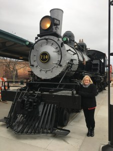 We thought it was nice for Lincoln to have brought the Boilermaker Special out to put on display! Well, it looked similar...