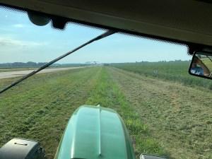 Working along US 50 near Wheatland