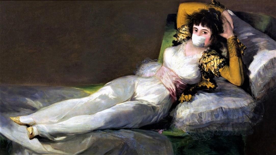 Cómo habría dibujado Francisco de Goya la pandemia del COVID-19_ Casi literal