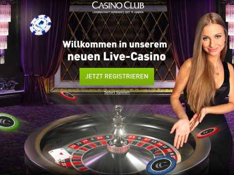 Casino Club Live Games Lobby