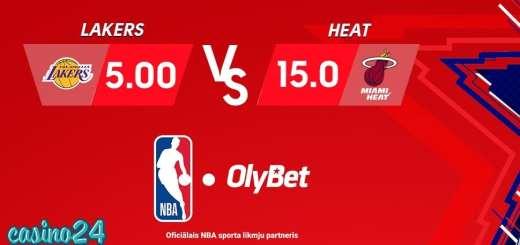 Olybet koeficienti NBA