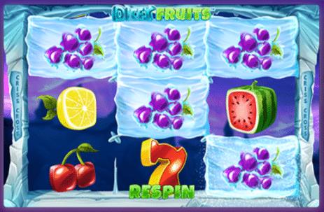 Synottip kazino spēle Dicey Fruits spēļu automāts.