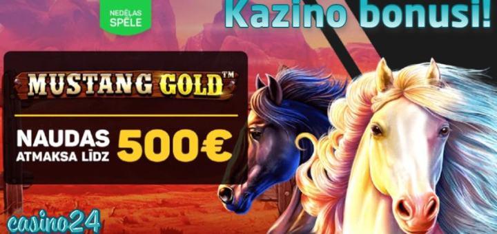 Klondaika kazino bonuss 500 EUR