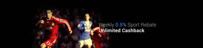 9Club Weekly 0.5% Sport Rebate Unlimited Cashback