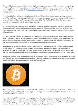 Best in bitcoin slot hunter