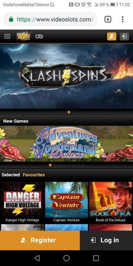 videoslots mobile Casino Review
