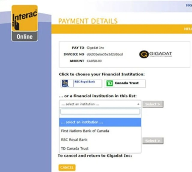 How To Make An Interac Deposit