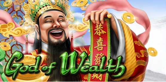 CoolCat Casino - God of Wealth: Realtime Gaming (RTG) 25 lines slot