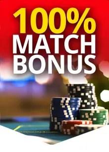 Platinum Reels 100% Bonus Match Welcome Bonus