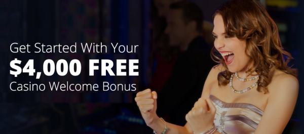All Star Slots Welcome offer. 400% Match first Deposit Bonus up to $4000