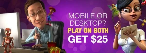 Online Slots LV - Mobile and Desktop Free Chips $25