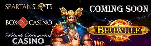 Beowulf (Quickspin) : Spartan Slots; Black Diamond; Box 24
