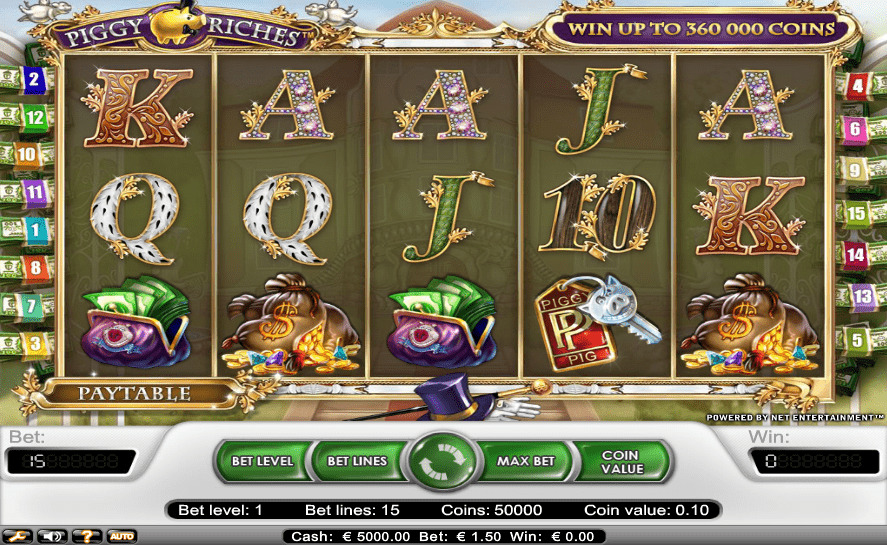 Guts . com NetEnt No Deposit FREE Spins Piggy Riches