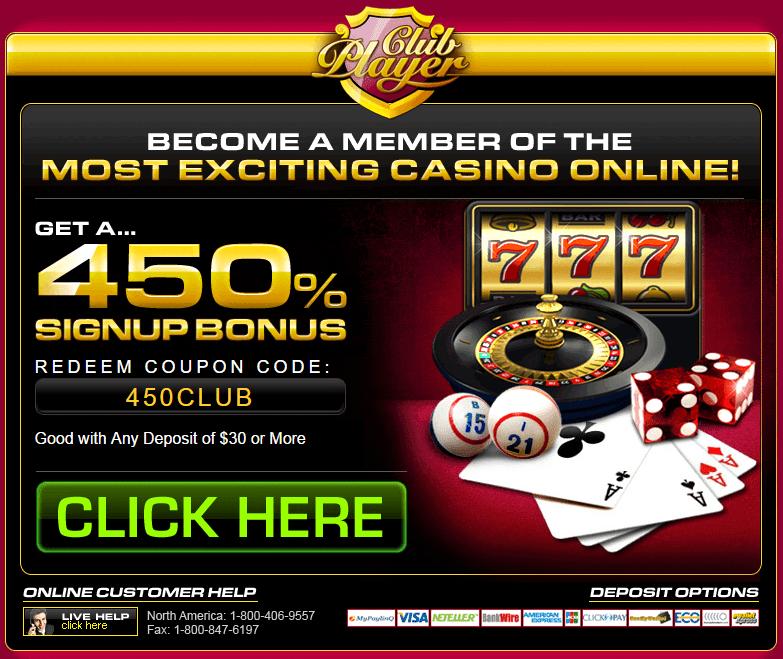 Club player casino+coupon codes the paris hotel and casino las vegas