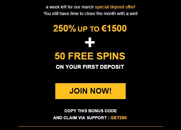 enzo casino no deposit code