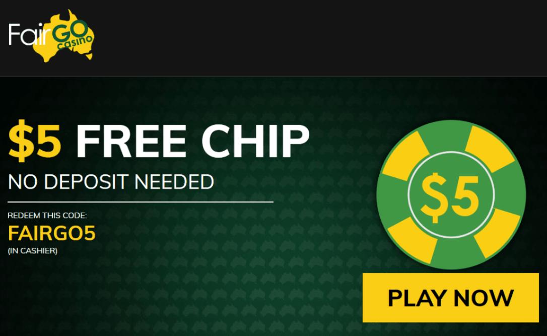 Fairgo5 Casino Bonus Codes 365