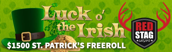 Red Stag Casino Luck O the Irish