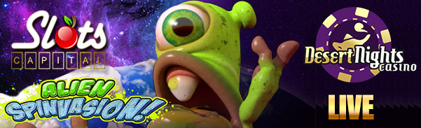 Spiele Alien Spinvasion - Video Slots Online